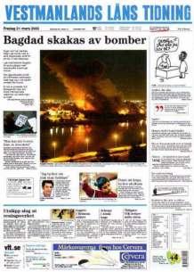 VLT den 23 mars 2003.