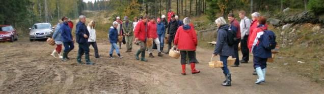 Svamputflykt i Bergslagen 2008