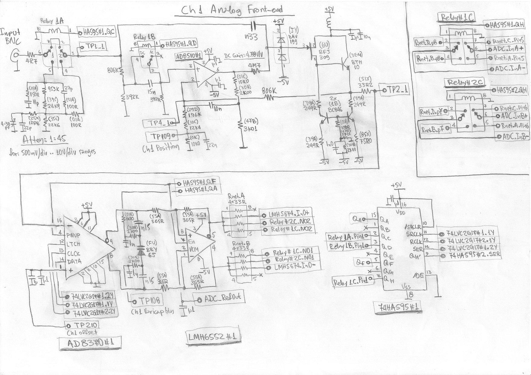 Design Of Oscilloscope Front End Attenuator