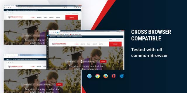 Cross Browser Compatible