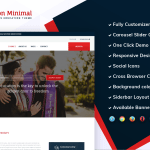 Education Minimal – Moderate & Versatile Free Education WordPress Theme