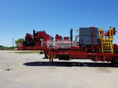 Trailer mounted twin Cementer
