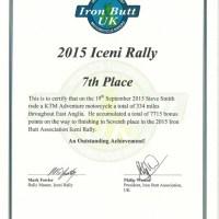 Iron Butt UK Iceni Rally 2015