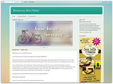 Homestay Blog