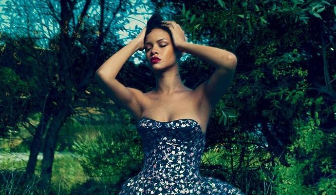 "Photoshoot & cover story: Rihanna for ""Vogue"" magazine"