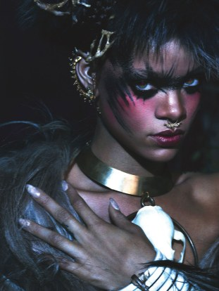 Rihanna for W Magazine 2014 Mert & Marcus