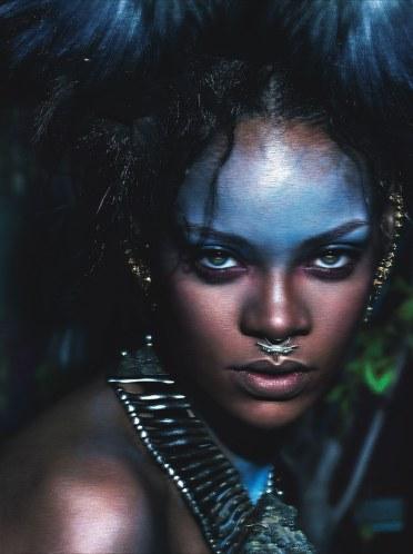 Rihanna for W Magazine 2014