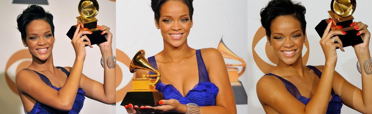 Throwback Thursday: Rihanna receives her first Grammy Award