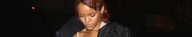 Rihanna at 'Game' nightclub