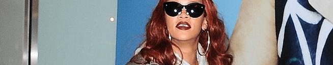 Rihanna is in London