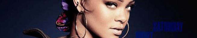 Rihanna performs on Saturday Night Live