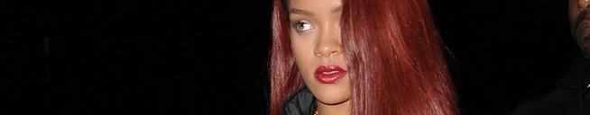 Rihanna at Saturday Night Live rehearsal