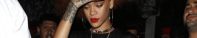 Rihanna spotted partying in Los Angeles