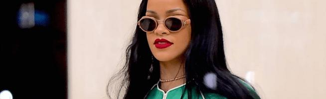 Rihanna rocks Gucci in New York