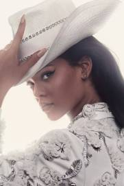 Rihanna on the cover of British Vogue, April 2016 Photos
