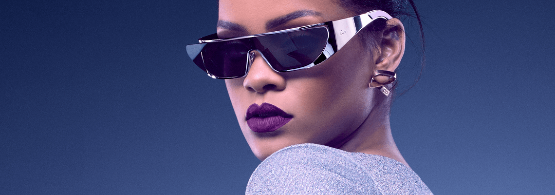 Rihanna and Dior Collaborate on Sunglass Collection