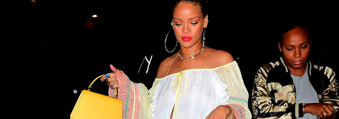 Rihanna goes partying in NY on May 30