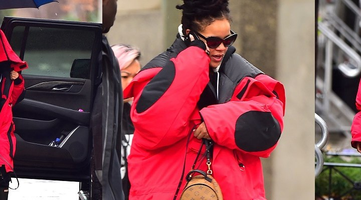 Rihanna rocks dreadlocks in NYC
