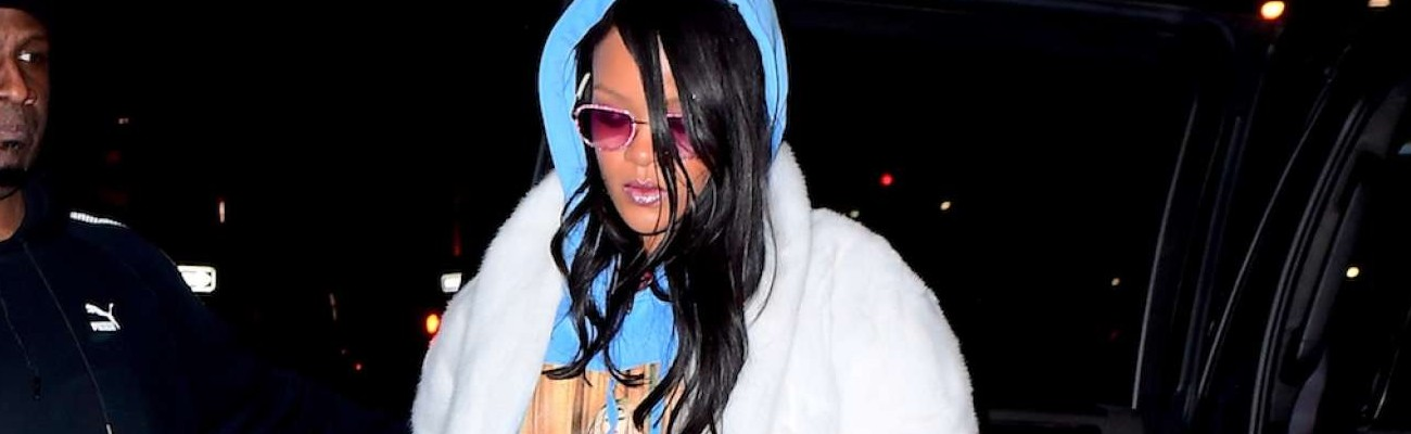 Rihanna spotted in New York