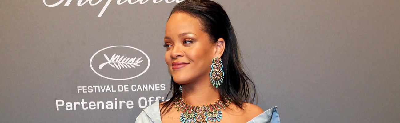 Rihanna attends Chopard Space party in Cannes