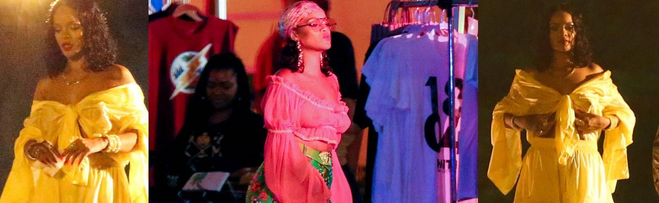 Rihanna shoots a music video in Miami