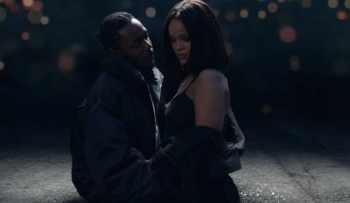 Kendrick Lamar and Rihanna's Loyalty. hits No. 1 on Rhythmic Songs Chart