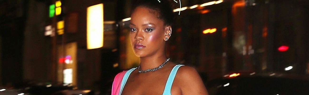 Rihanna attends Fenty Puma after party in New York