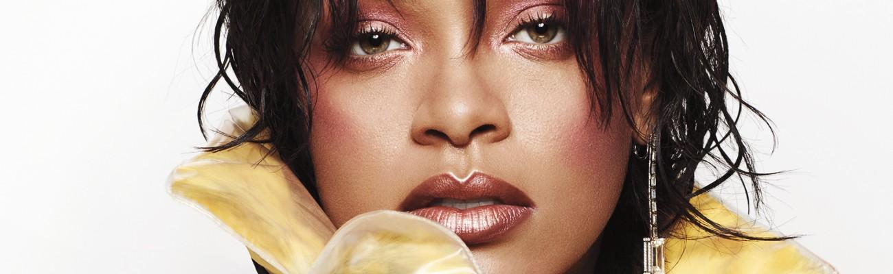 Rihanna answers beauty questions in Elle