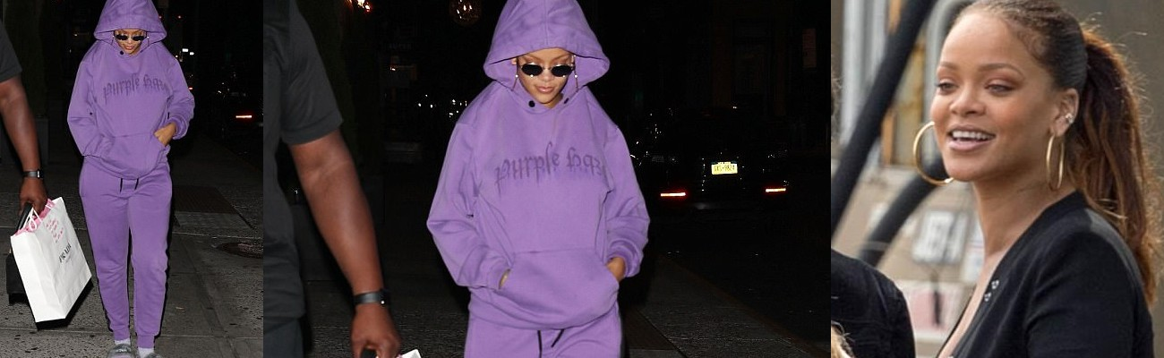 Rihanna photographed in New York