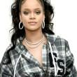 Rihanna attends Fenty Puma Pep Rally in New York on October 13, 2017