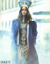 Rihanna on the cover of Vogue Arabia rihanna-fenty.com