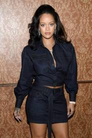 Rihanna at Vogue Forces of Fashion Conference on October 12, 2017 rihanna-fenty.com