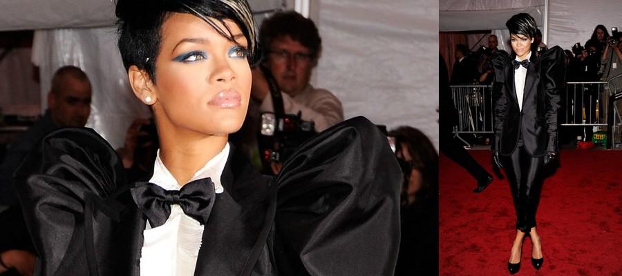 Rihanna Met Gala 2009 rihanna-fenty.com