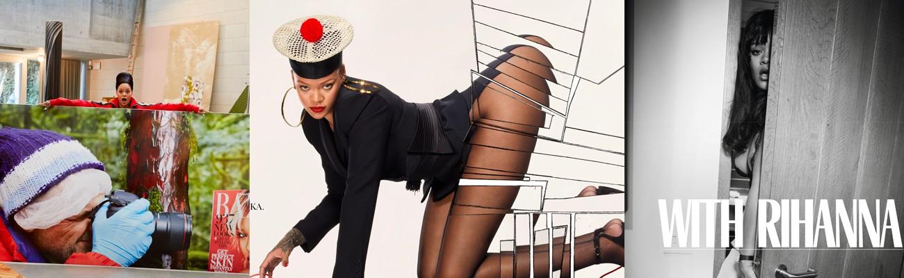 Inside Rihanna's Vogue Paris spread