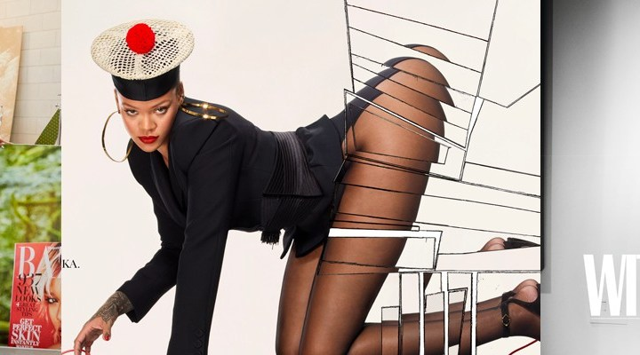 Inside Rihanna's Vogue Paris spread