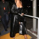 Rihanna attends Jay-Z's concert in Los Angeles December 21, 2017