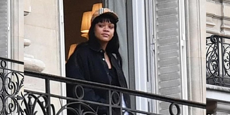 Rihanna spotted in Paris January 13, 2018