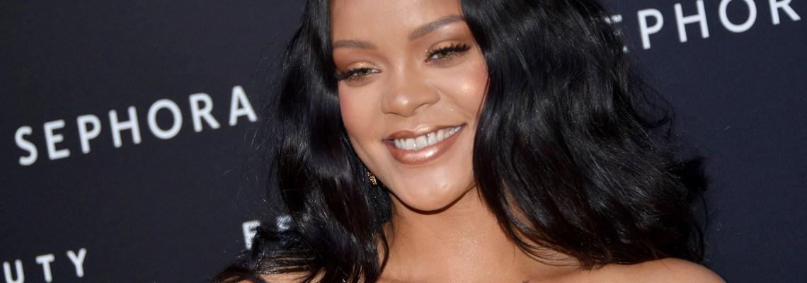 Rihanna attends Fenty Beauty launch in Milan