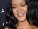Rihanna attends Fenty Beauty launch in Milan on April 5, 2018