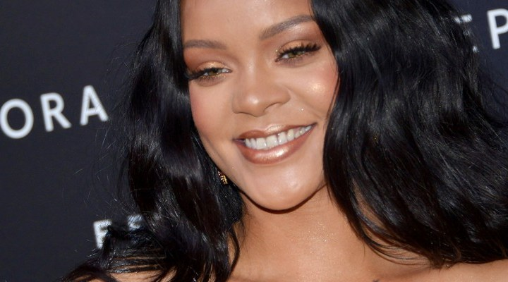Rihanna attends Fenty Beauty launch in Milan
