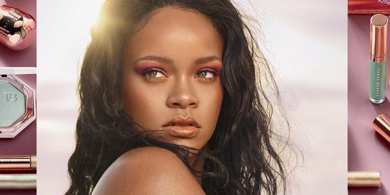 New Fenty Beauty products coming on May 21st hightlighters, lip luminizers, eye shimmers
