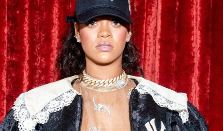 Rihanna attends Gucci store opening in New York on May 5th, 2018