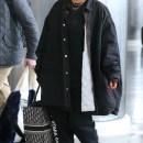 Rihanna arrives at JFK Airport on May 4, 2018 Fenty x Puma