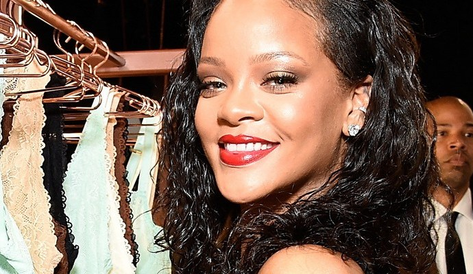 Rihanna bought half of her sexy lingerie while single