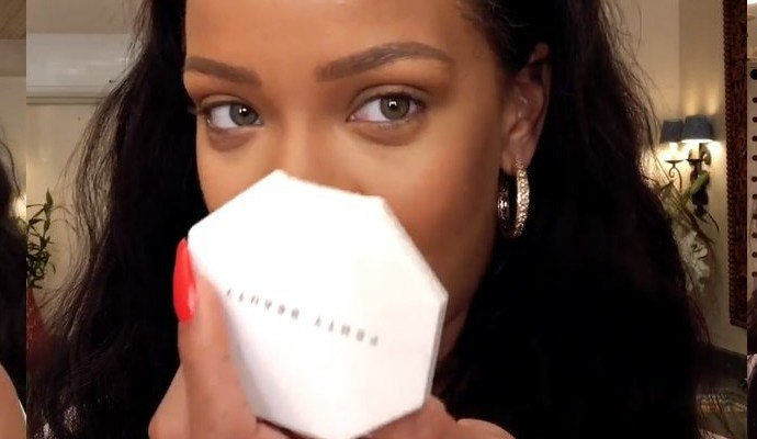Watch Rihanna's Epic 10-Minute Guide to Going-Out Makeup