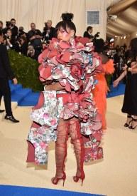 Rihanna Met Gala 2017 Rei Kawakubo