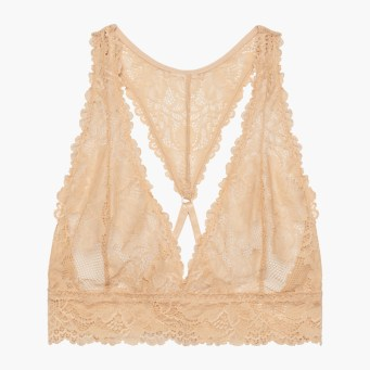 Rihanna Savage x Fenty Lace Bralette Honey