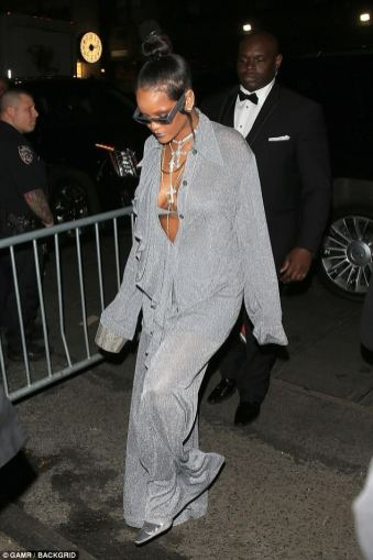 Rihanna glitters at MET Gala after party on May 8, 2018 photos