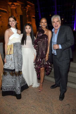 Rihanna attends Ocean's 8 premiere after party on June 5 in New York Gary Ross, Awkwafina and Anne Hathaway