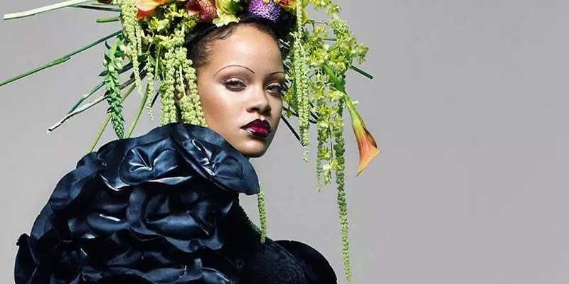 Rihanna talks her figure and dating world in British Vogue
